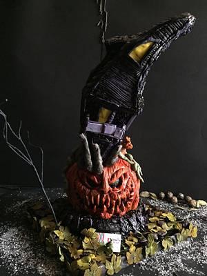 Cbc Halloween collaboration  - Cake by Dinadiab