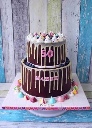 Drip Cake - Cake by Kmeci Cakes