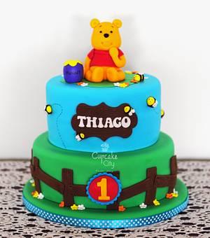 Winnie The Pooh Cake - Cake by CupcakeCity