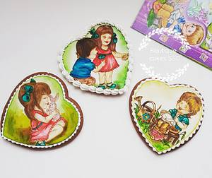 Anna and friends cookie set  - Cake by DDelev