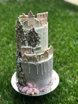 Navidad pastel  - Cake by Griselda de Pedro