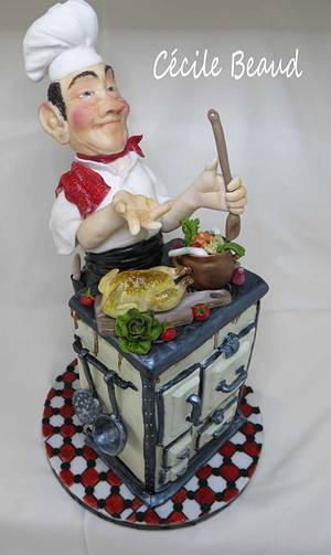 Chef by me :) - Cake by Cécile Beaud