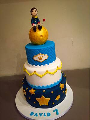 Le petit Prince  - Cake by Micol Perugia