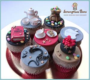 Hobby Cupcakes - Cake by Scrumptious Buns