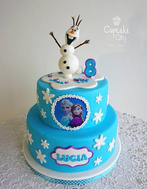 Frozen Cake - Cake by CupcakeCity