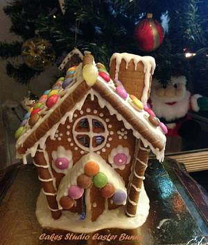 My Gingerbread House - Cake by Irina Vakhromkina