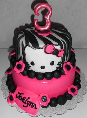 Hello Kitty Birthday Cake :)  - Cake by Carrie Freeman