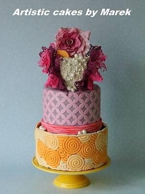 Wedding Anniversary - Cake by Marek