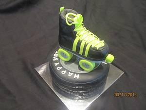 cars and skates - Cake by kimma