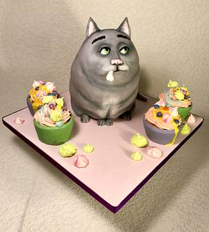 The Secret Life of Pets - Cake by Andrea