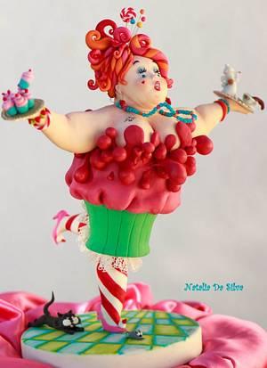 """Madame Cupcake"" - Cake by Natalia Da Silva Carmona"