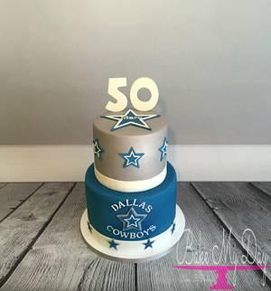 Dallas Cowboys - Cake by Bake My Day Acadiana