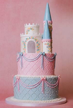 Princess Castle Cake - Cake by Sharon Zambito