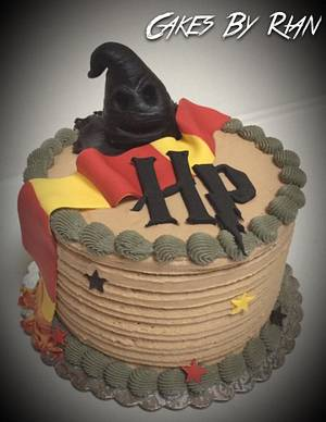 Harry Potter Cake - Cake by Cakes By Rian