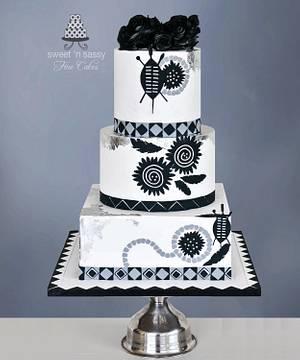 Zulu Wedding - Cake by Sandy Lawrenson - Sweet 'n  Sassy