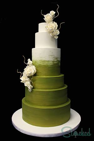 Glorious Gold Green - Cake by Stacked