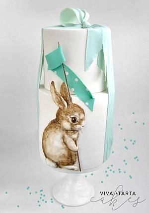Baby Bunny - Cake by Viva la Tarta