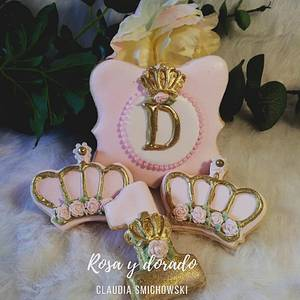 Cookies Crown Princess - Cake by Claudia Smichowski