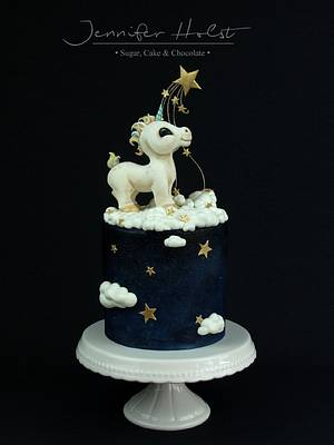 Unicorn Cake - Cake by Jennifer Holst • Sugar, Cake & Chocolate •