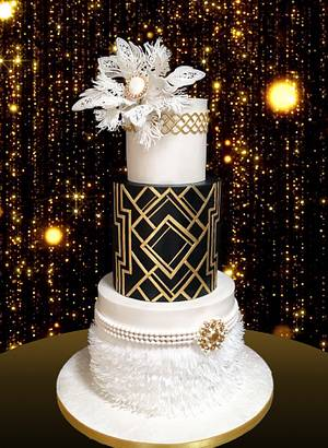 The Great Gatsby... - Cake by Delice