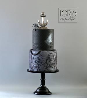 Twisted Ocean theme - Cake by Lori Mahoney (Lori's Custom Cakes)