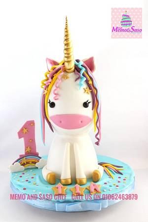 Unicorn cake 🦄 - Cake by Mero Wageeh