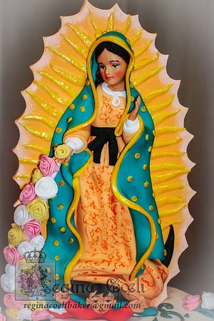 La Guadalupana - Cake by Regina Coeli Baker