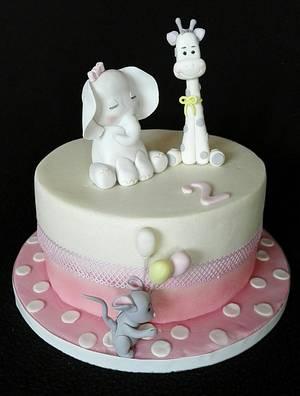 Cute animals - Cake by Anka