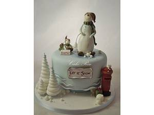 Christmas Cake - Cake by Karina Leonard