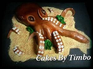 Octopus Cake! - Cake by Timbo Sullivan
