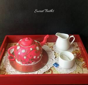 Tea Tales - Cake by Debjani Mishra