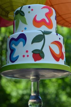 Fiesta! - Cake by Elisabeth Palatiello