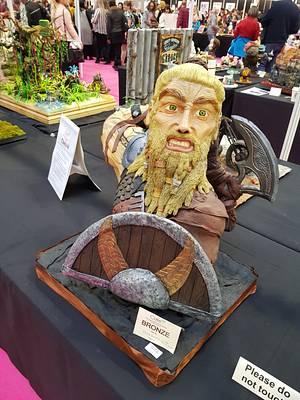 Viking bronze award - Cake by LE PETIT BONBON