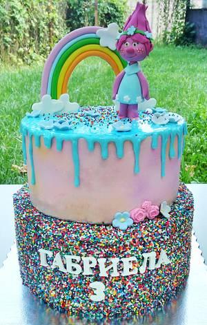 Birthday cake - Cake by Illycake