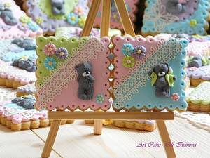 Bear cookies 2 - Cake by Oli Ivanova