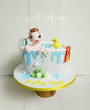 Splish Splash Fun - Cake by Lulu Goh