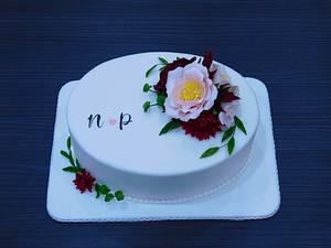 Wedding cake  - Cake by Sladky svet