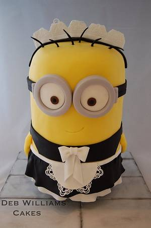 Despicable Me 2 - Minion Phil - Cake by Deb Williams Cakes