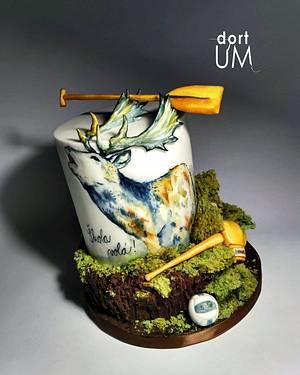 Fallow deer - Cake by dortUM
