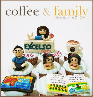Coffee and Family - Cake by Diana