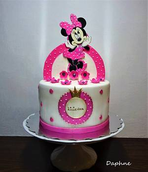 Minnie mouse - Cake by Daphne