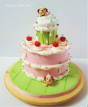 puppy cake - Cake by Zohreh