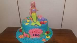 Ariel n her friends - Cake by lecakekraft