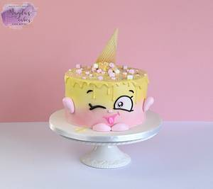 Shopkins Ice Cream Kate - Cake by Magda's Cakes (Magda Pietkiewicz)