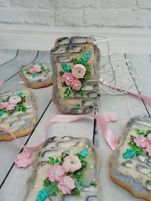 Flowers  - Cake by Oli Ivanova
