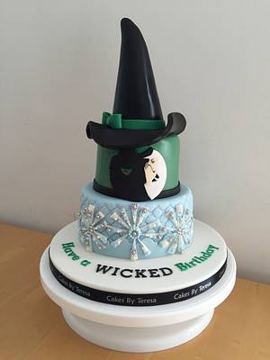 Wicked cake - Cake by teresascakes