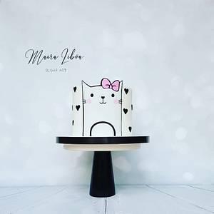 Cute cat - Cake by Maira Liboa