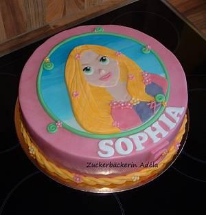 Prinzess Rapunzel - Cake by Adéla