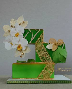 Me, myself and I - Orchid Splendour - Cake by Mila - Pure Cakes by Mila