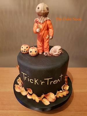 Trick r Treat Cake. - Cake by Zoe White